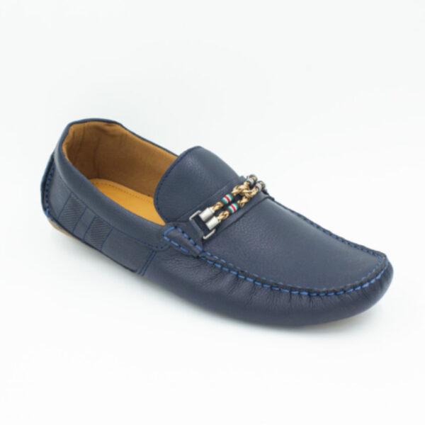 mocasín azul